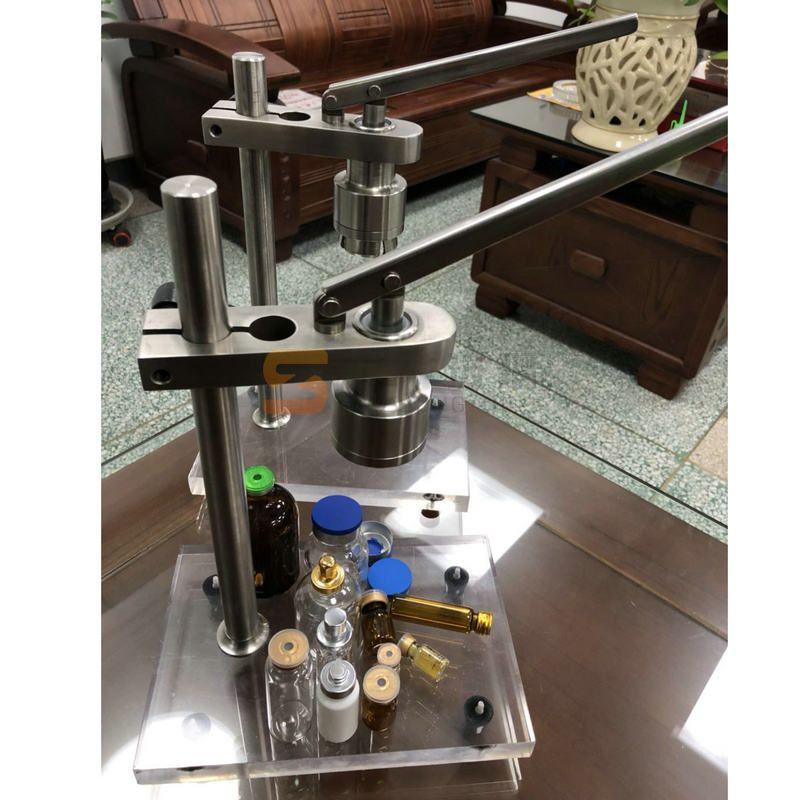 不锈钢台式压盖机